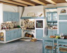 Interijer kuhinje u stilu Provence - glavni aspekti uređenja i ukrašavanja